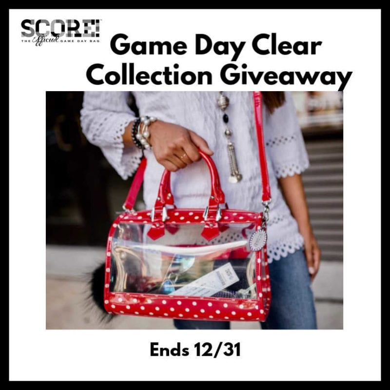 Game Day Clear Collection Giveaway ~ Ends 12/31 @SMGurusNetwork @las930 #MySillyLittleGang