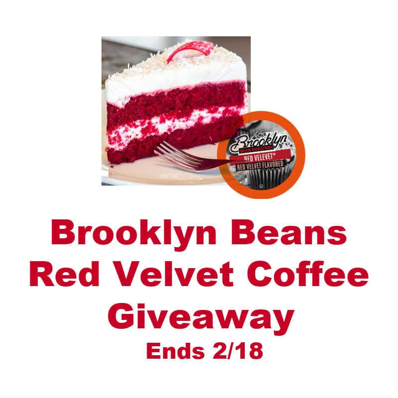 Brooklyn Beans Red Velvet Coffee Giveaway ~ Ends 2/18 @BrooklynBeans1 @las930 #MySillyLittleGang