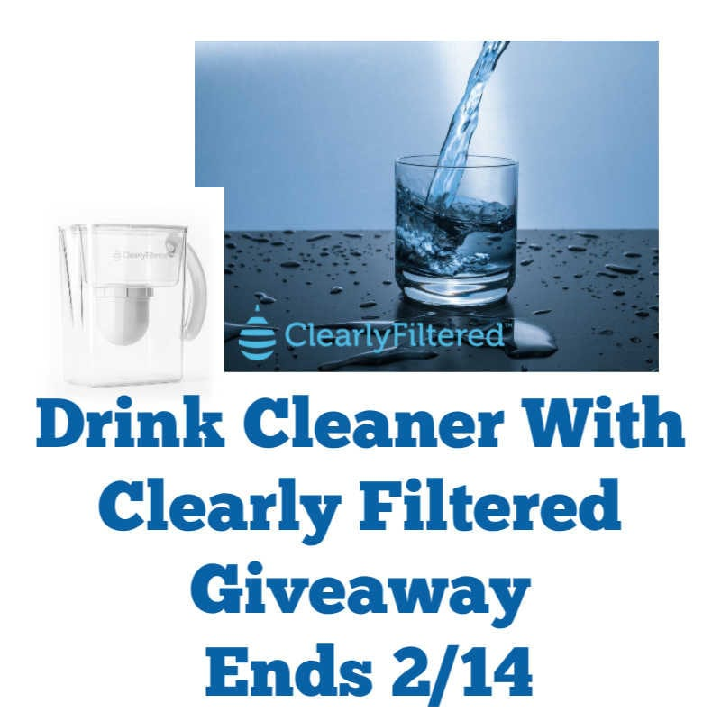 Drink Cleaner With Clearly Filtered Giveaway ~ Ends 2/14 @clearlyfiltered @las930 #MySillyLittleGang