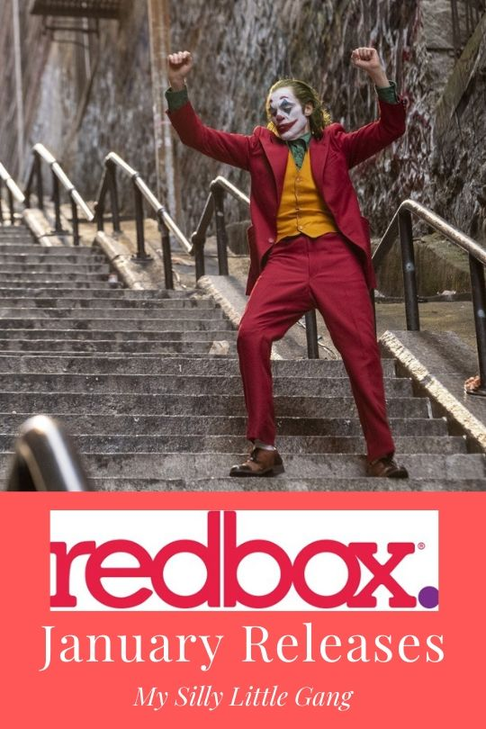 Redbox January Releases! @redbox #MySillyLittleGang