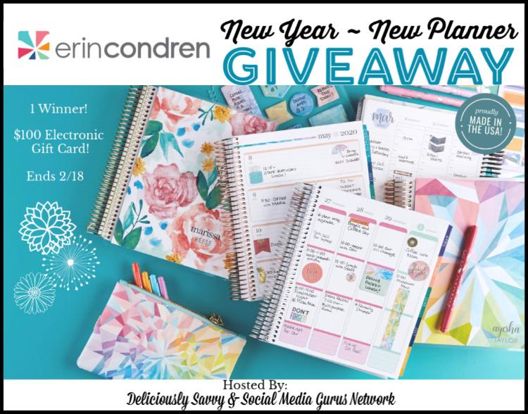 Erin Condren New Year ~ New Planner Giveaway ~ Ends 2/18 @SMGurusNetwork @ErinCondren #MySillyLittleGang