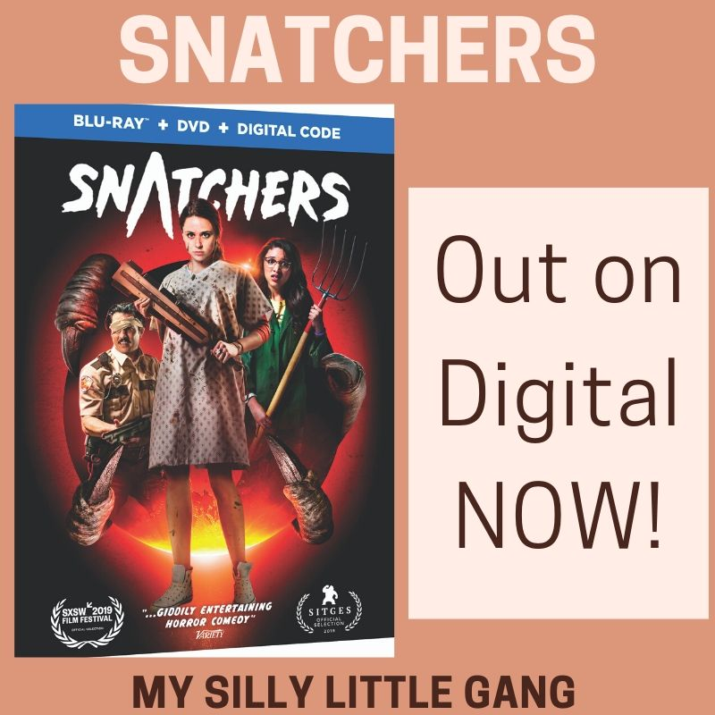 Snatchers ~ Out on Digital NOW! @WBHomeEnt #MySillyLittleGang #Snatchers