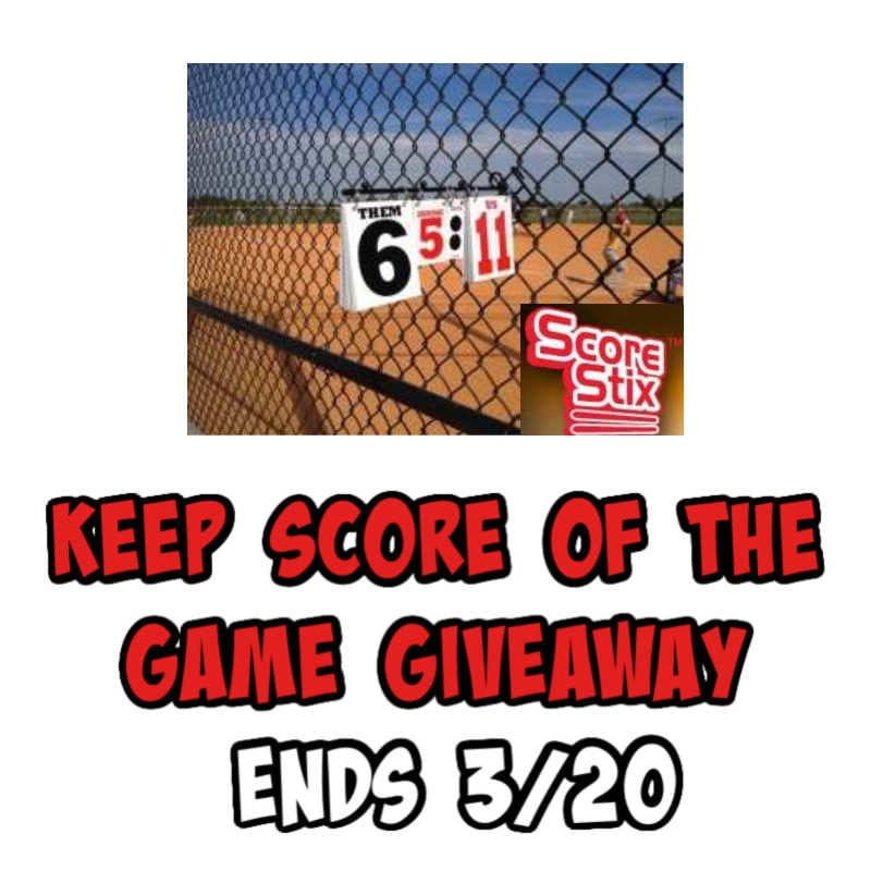 Keep Score Of The Game Giveaway ~ Ends 3/20 @las930 #MySillyLittleGang