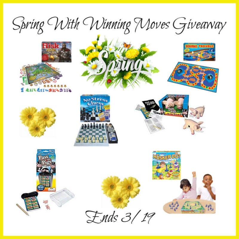Spring With Winning Moves Giveaway ~ Ends 3/19 @WinningMovesUSA @las930 #MySillyLittleGang