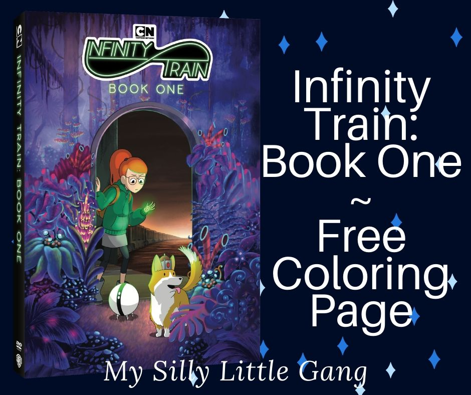 Infinity Train: Book One ~ Free Downloadable Coloring Page @WBHomeEnt #Sponsored #MySillyLittleGang