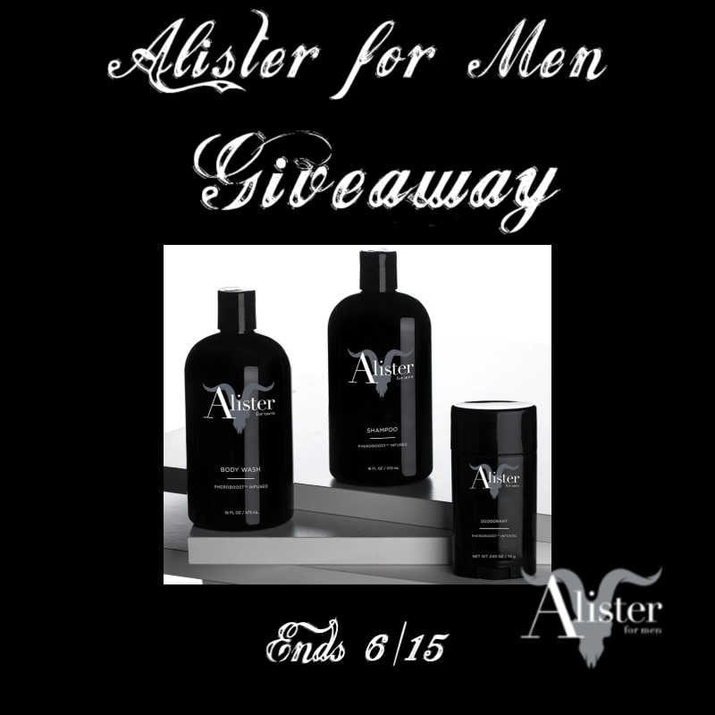 Alister for Men Giveaway ~ Ends 6/15 @Alisterco_ @las930 #MySillyLittleGang