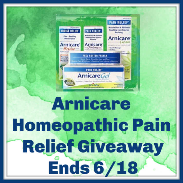 Arnicare Homeopathic Pain Relief Giveaway ~ Ends 6/18 @ArnicareUSA @las930 #MySillyLittleGang
