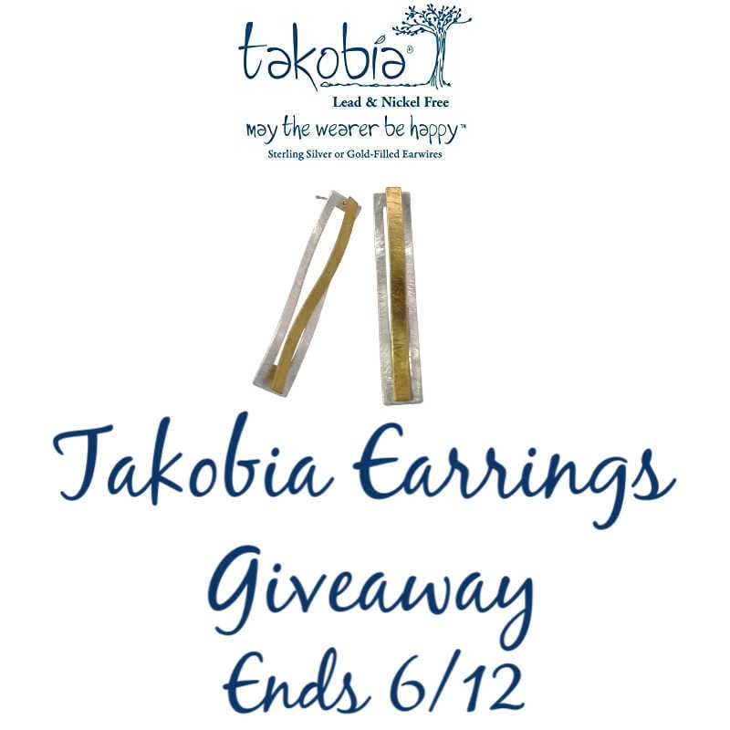 Takobia Earrings Giveaway ~ Ends 6/12 @las930 #MySillyLittleGang
