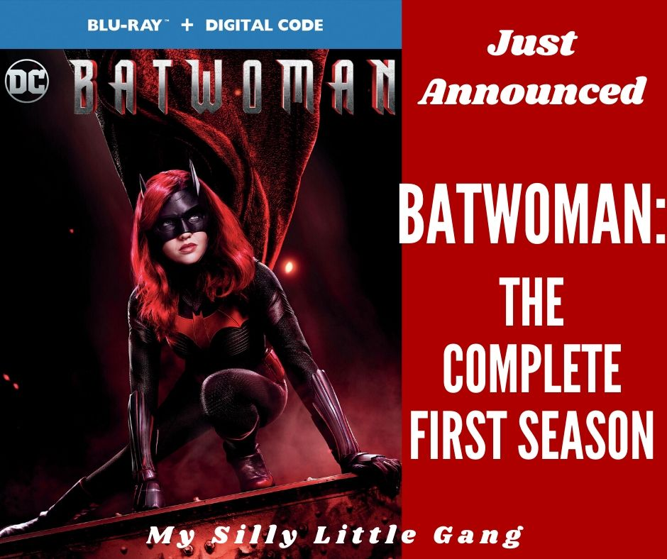Just Announced - Batwoman: The Complete First Season @WBHomeEnt #MySillyLittleGang