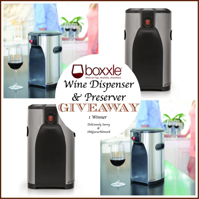 Boxxle Wine Dispenser & Preserver Giveaway ~ Ends 8/25 @Boxxle @deliciouslysavv #MySillyLittleGang
