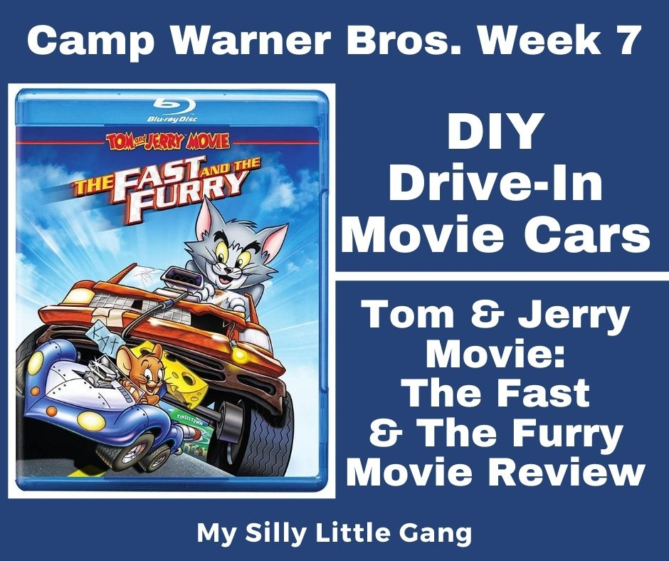 DIY Drive-In Movie Cars ~ Camp Warner Bros. Week 7 & Movie Review #CampWarnerBros #MySillyLittleGang