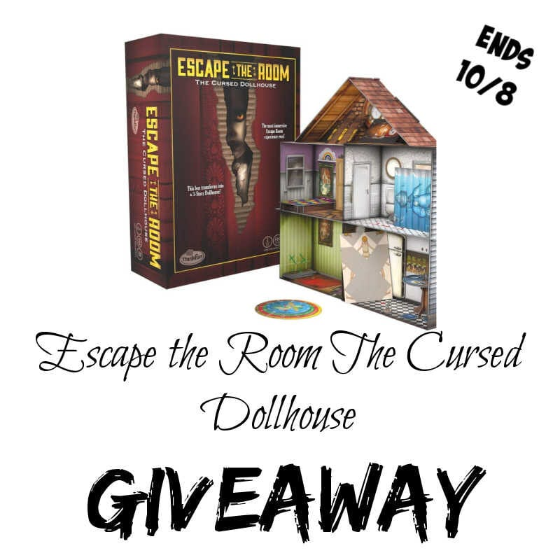 Escape the Room The Cursed Dollhouse Giveaway ~ Ends 10/8 @ThinkFun @las930 #MySillyLittleGang