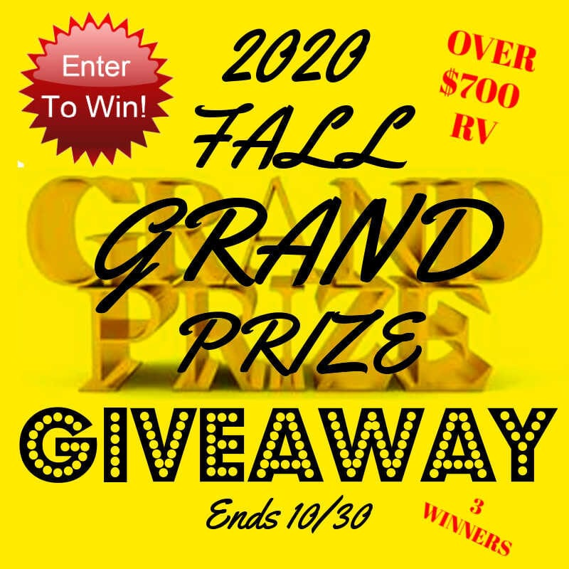 2020 Fall Grand Prize Giveaway ~ Ends 10/30 @las930 #MySillyLittleGang