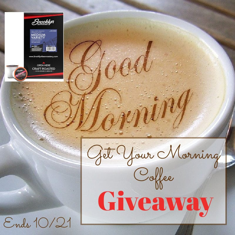 Get Your Morning Coffee Giveaway ~ Ends 10/21 @las930 #MySillyLittleGang