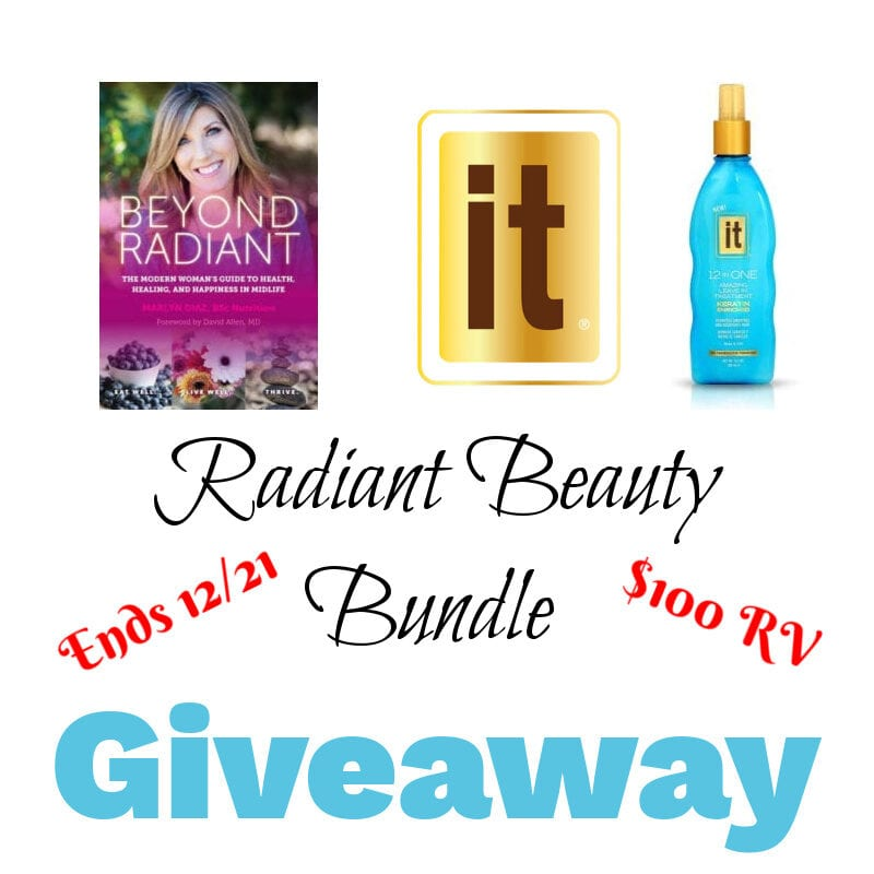 Radiant Beauty Bundle Giveaway ~ Ends 12/21 @las930 #MySillyLittleGang