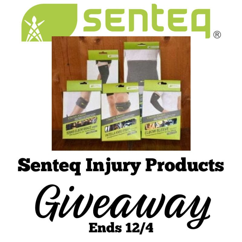 Senteq Injury Products Giveaway ~ Ends 12/4 @las930 #MySillyLittleGang