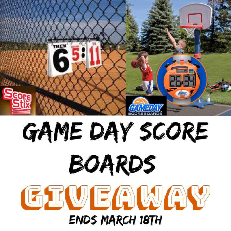 Game Day Score Boards Giveaway ~ Ends 3/18 @las930 #MySillyLittleGang