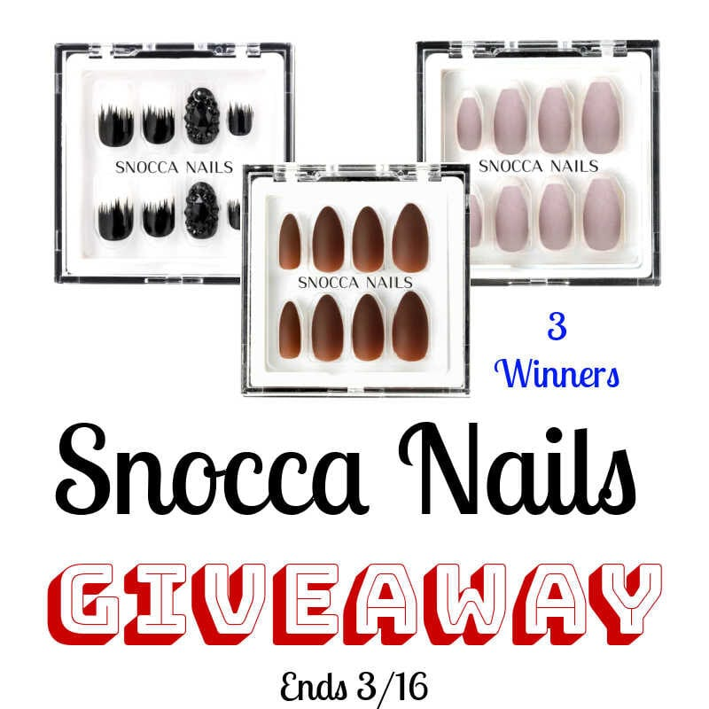 Snocca Nails Giveaway ~ Ends 3/16 @las930 #MySillyLittleGang