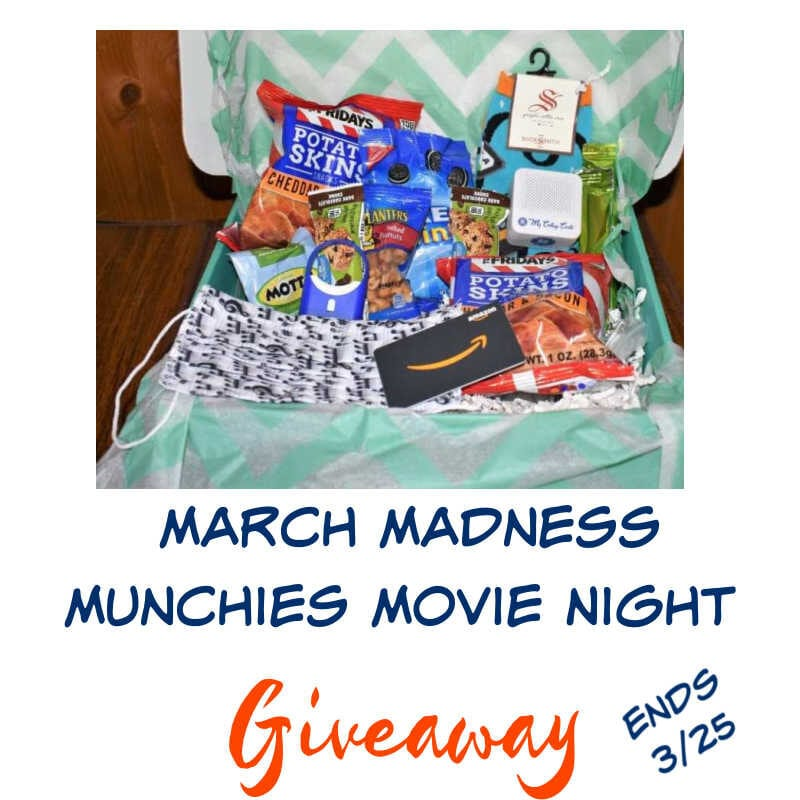 March Madness Munchies Movie Night Giveaway ~ Ends 3/25 @las930 #MySillylittleGang