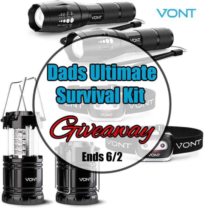 Dads Ultimate Survival Kit Giveaway ~ Ends 6/2 #MySillyLittleGang