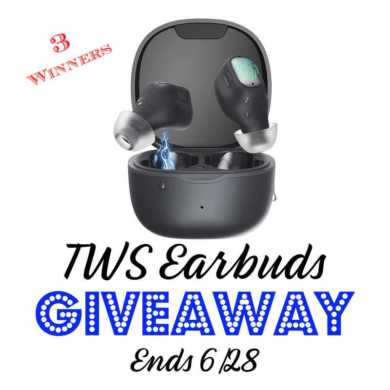TWS Earbuds Giveaway ~ Ends 6/28 #MySillyLittleGang