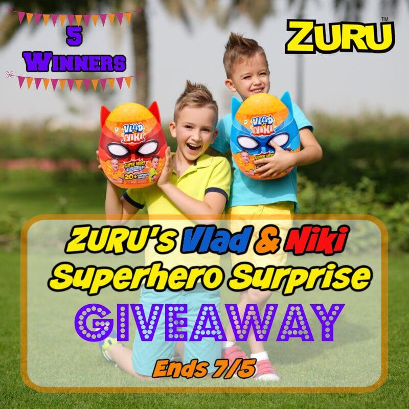 ZURUs Vlad & Niki Superhero Surprise Giveaway ~ Ends 7/5 #MySillyLittleGang