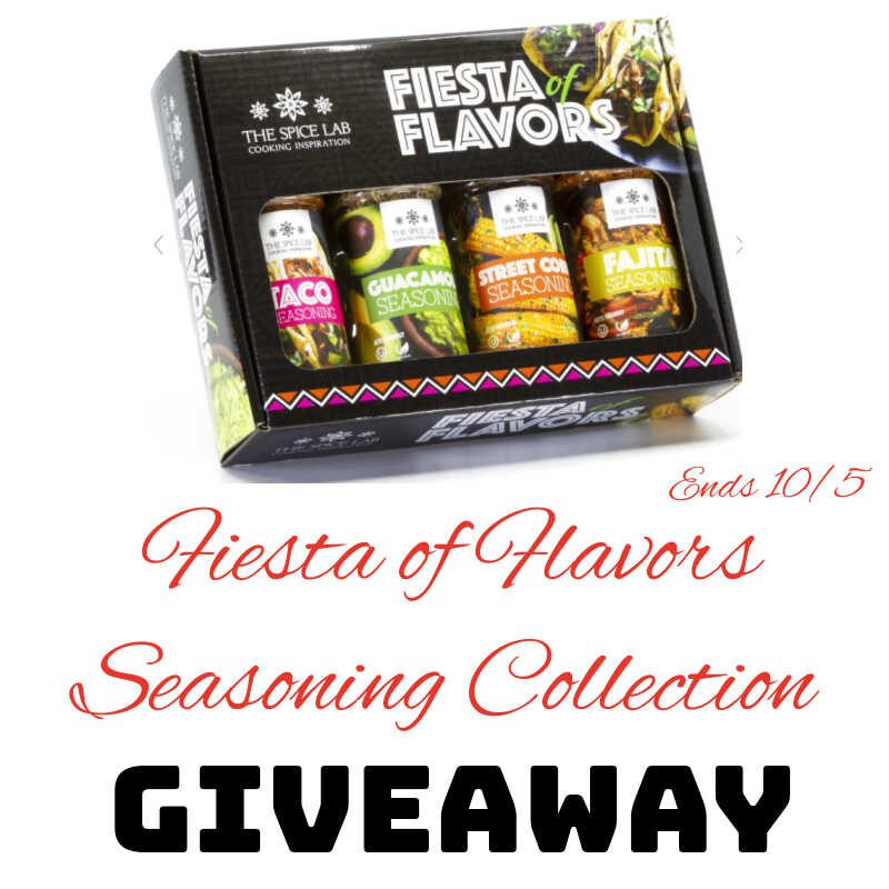 Fiesta of Flavors Seasoning Collection Giveaway ~ Ends 10/5 #MySillyLittleGang