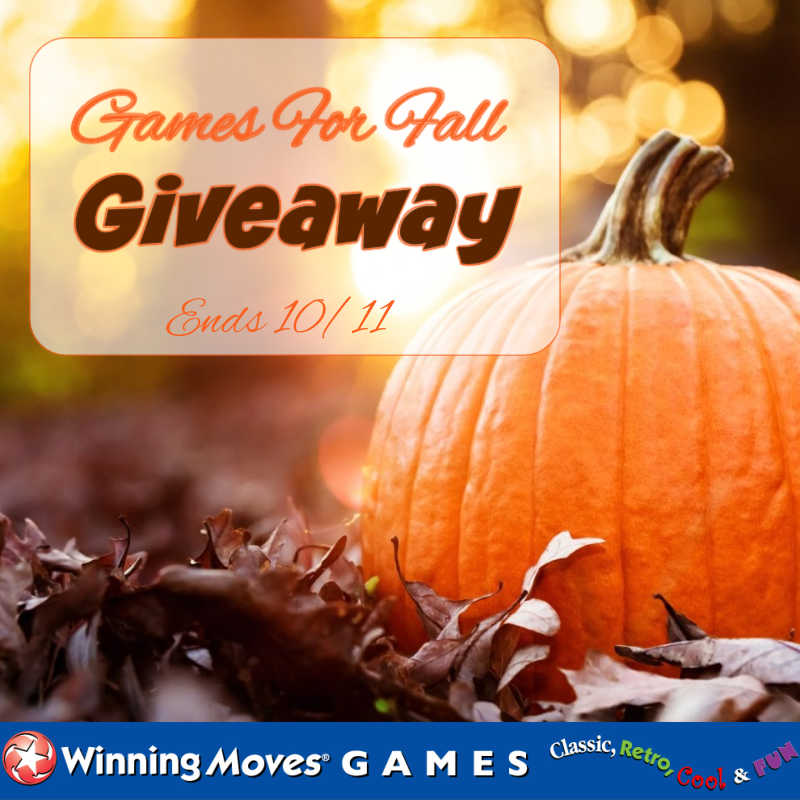 Games For Fall Giveaway ~ Ends 10/11 #MySillyLittleGang
