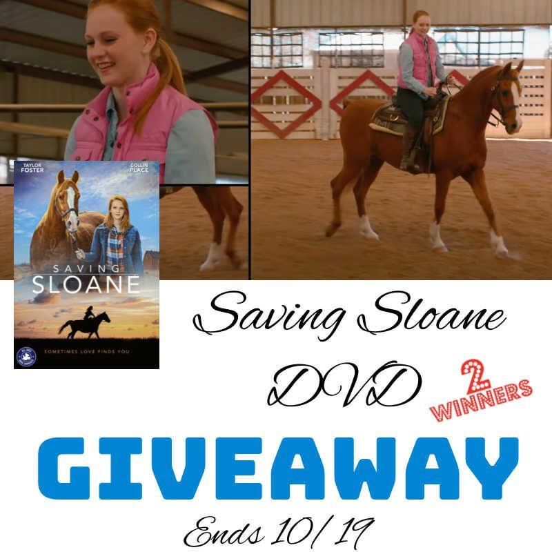 Saving Sloane DVD Giveaway ~ 10/19 #MySillyLittleGang