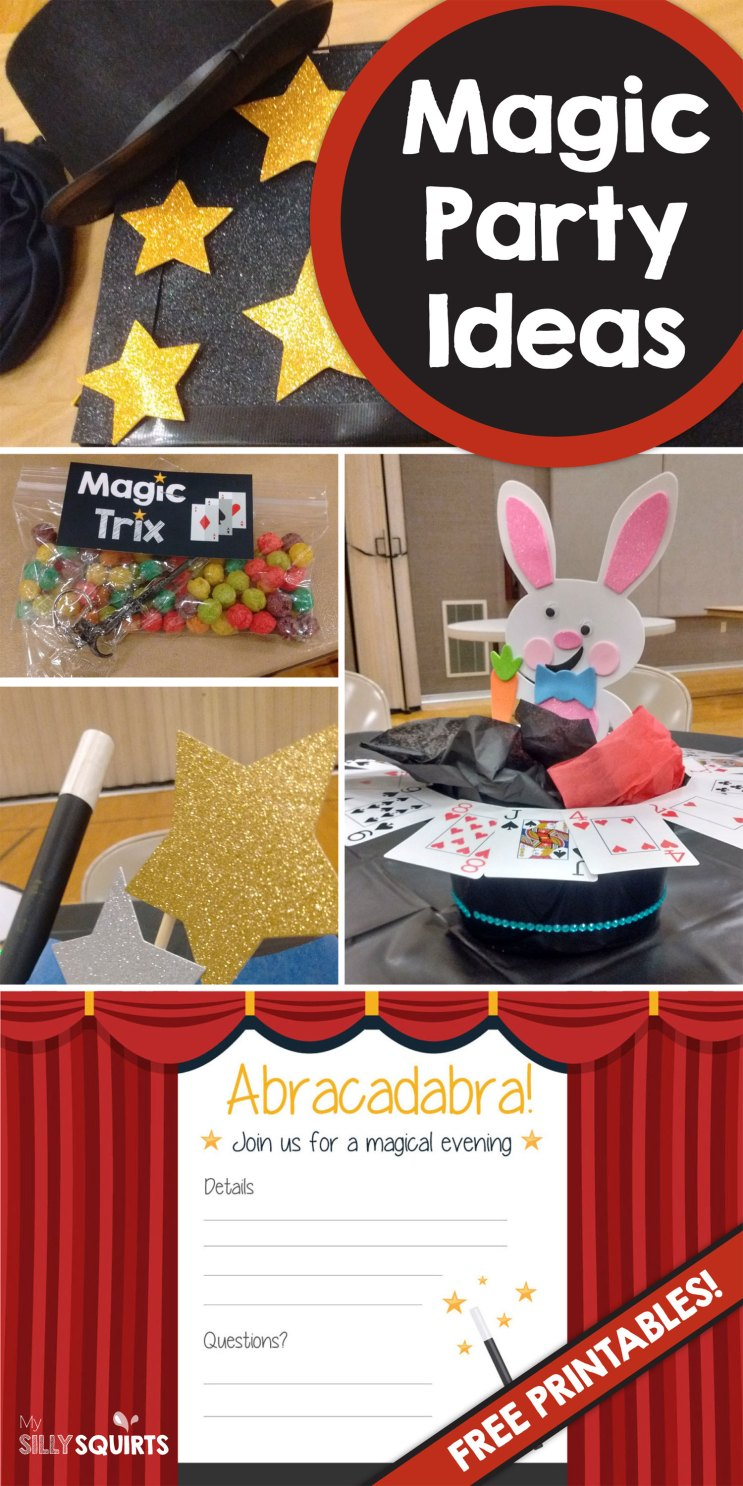 Abracadabra! Magic party ideas you\'ll love | My Silly Squirts