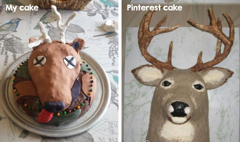 Not So Pin Worthy Pinterest Birthday Cakes My Silly Squirts