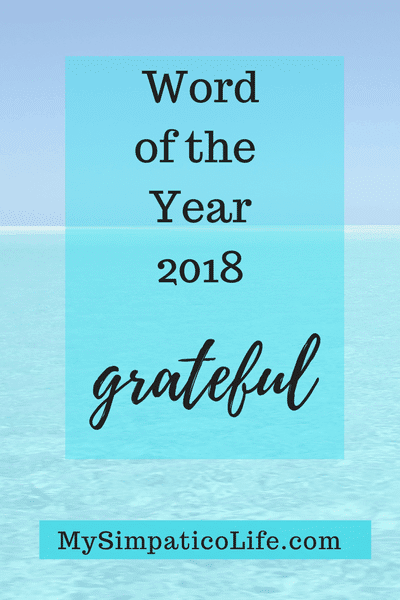 New Year Focus on Grateful