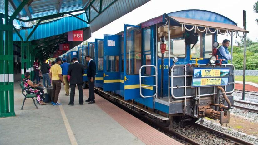 Nilgiri Toy Train Ooty Railway station