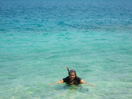 Snorkling at Sea of Havelock