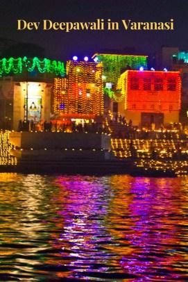Dev Diwali in Varanasi ghat