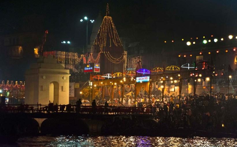 Dev Deepawali in Varanasi aarti