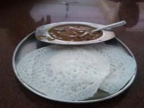 Kadla curry and appam