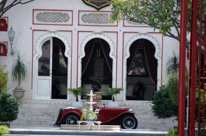 Hotel area Inside city palace udaipur