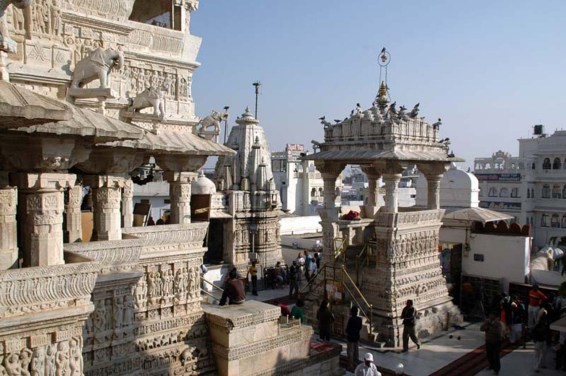 Jagdish temple in Udaipur