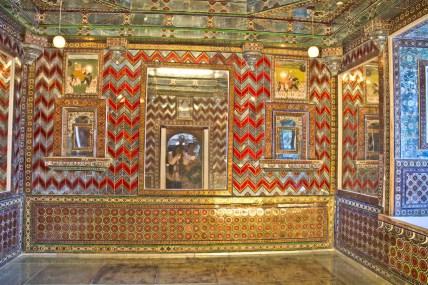 City palace glass room Udaipur