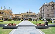 City palace inside compound