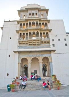 Inside of Monsoon palace Udaipur
