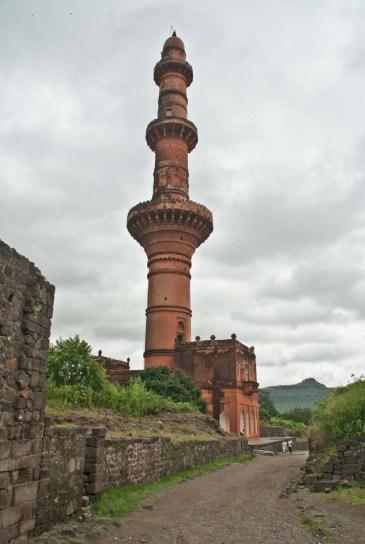 Chand Minar Daultabad fort Aurangabad