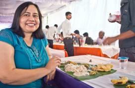 onam sadhya feast and I