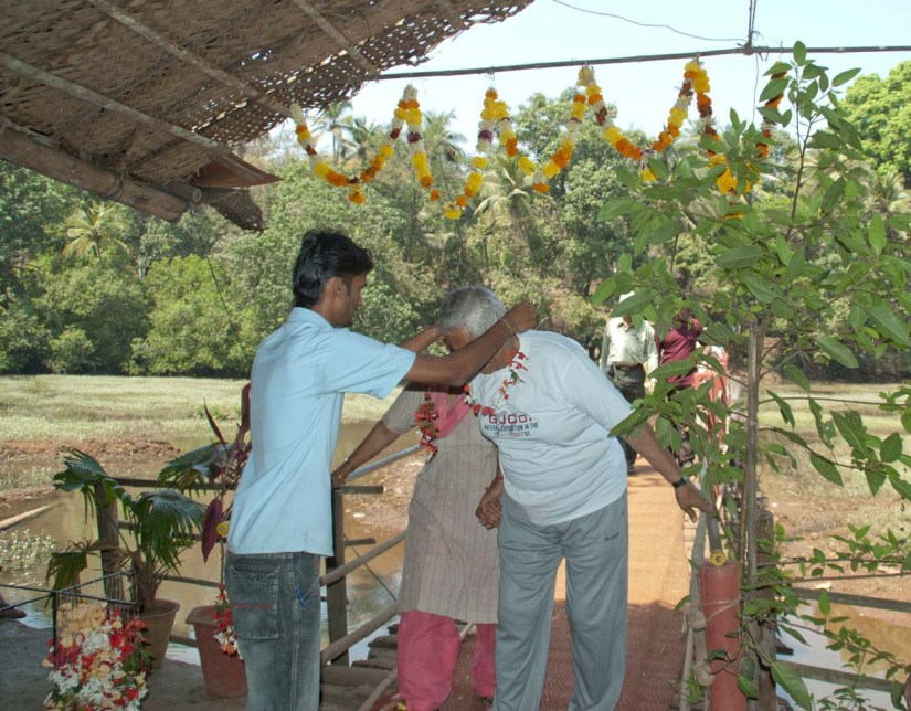 Traditional Welcome at Spice Plantation
