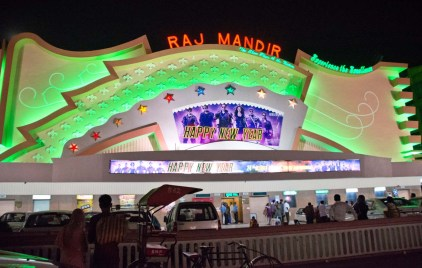 Jaipur by night Raj mandir