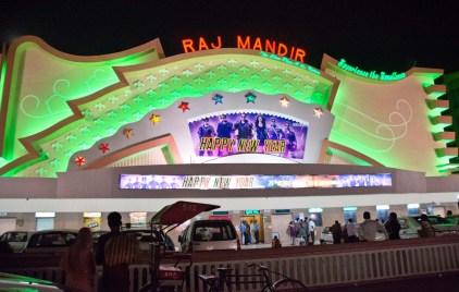 Jaipur by night Raj mandir