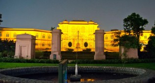 Jaipur by night Vidhan Sabha Bhawan