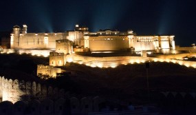 Jaipur by night Amber light and sound show