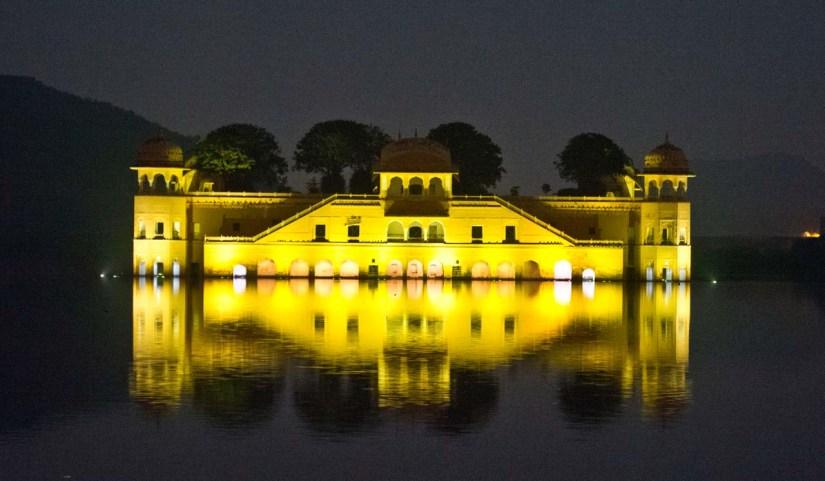 Jal Mahal Jaipur at night